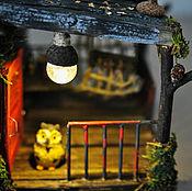 Интерьерный домик ночник Готический