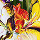 Order  Oil painting of iris. Zabaikalie. Livemaster. . Pictures Фото №3