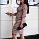 """Платья ручной работы. Ярмарка Мастеров - ручная работа. Купить Платье """"Оливия"""" Ванессы Монторо. Handmade. Бежевый"""