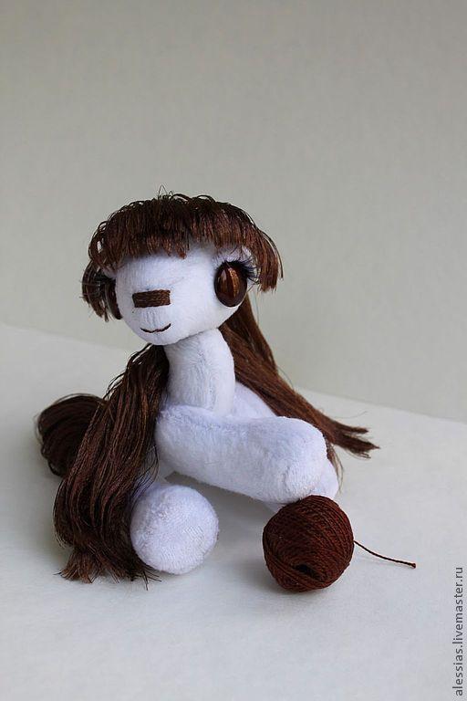 Игрушки животные, ручной работы. Ярмарка Мастеров - ручная работа. Купить M&Ms - молочный шоколад  пони..  коллекционная игрушка. Handmade.