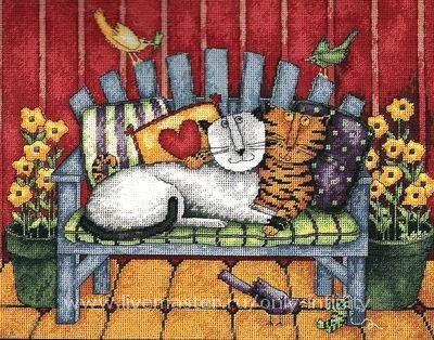 Porch Cats, Картины, Санкт-Петербург,  Фото №1