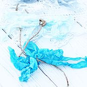 Материалы для творчества ручной работы. Ярмарка Мастеров - ручная работа Шебби-ленты. Handmade.