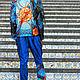 Костюм MODENARO: Мужская квантовая коллекция(Синий). Костюмы. MODENARO. Ярмарка Мастеров.  Фото №6