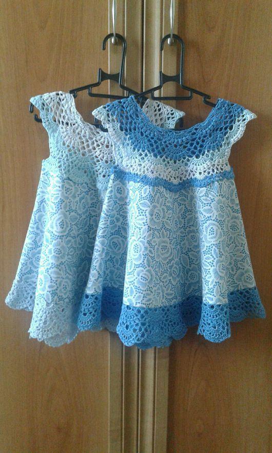 """Одежда для девочек, ручной работы. Ярмарка Мастеров - ручная работа. Купить Платье """"Папина дочка"""" ажурное. Handmade. подарок для дочки"""