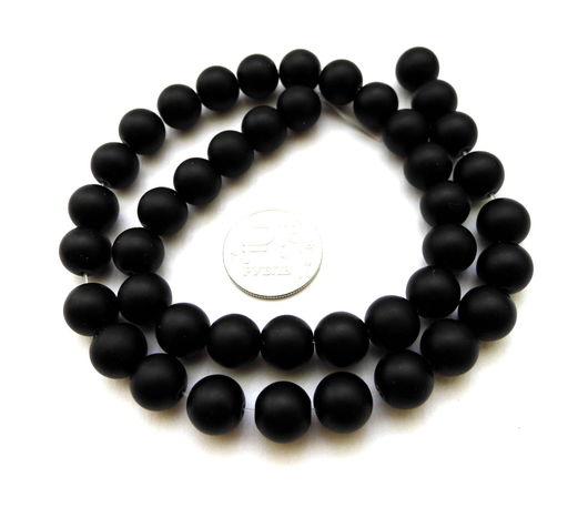 Для украшений ручной работы. Ярмарка Мастеров - ручная работа. Купить Шунгит 42 камня набор бусины черные гладкие матовые. Handmade.