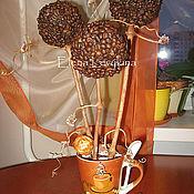Цветы и флористика ручной работы. Ярмарка Мастеров - ручная работа Кофейное дерево №2. Handmade.