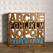 Для дома и интерьера handmade. Livemaster - original item The ALPHABET chest of drawers.. Handmade.