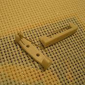 Материалы для творчества ручной работы. Ярмарка Мастеров - ручная работа Булавка пришивная. Handmade.