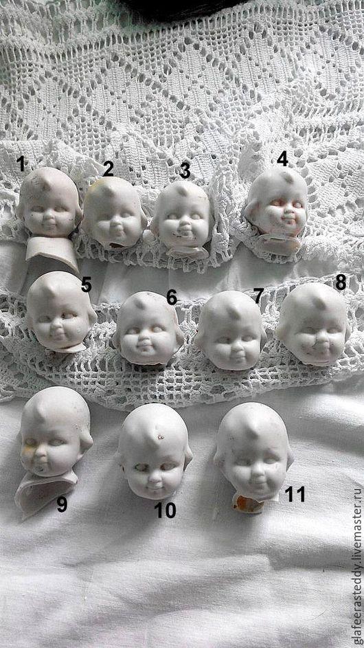 Куклы и игрушки ручной работы. Ярмарка Мастеров - ручная работа. Купить Г 11.Головки гуглики. Handmade. Белый