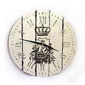 Для дома и интерьера handmade. Livemaster - original item Wall clock in the style of French Vintage. Handmade.