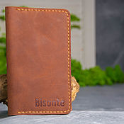 Сумки и аксессуары handmade. Livemaster - original item Men wallet leather. Handmade.