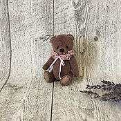 Мишки Тедди ручной работы. Ярмарка Мастеров - ручная работа Медвежонок тедди цвета какао. Handmade.