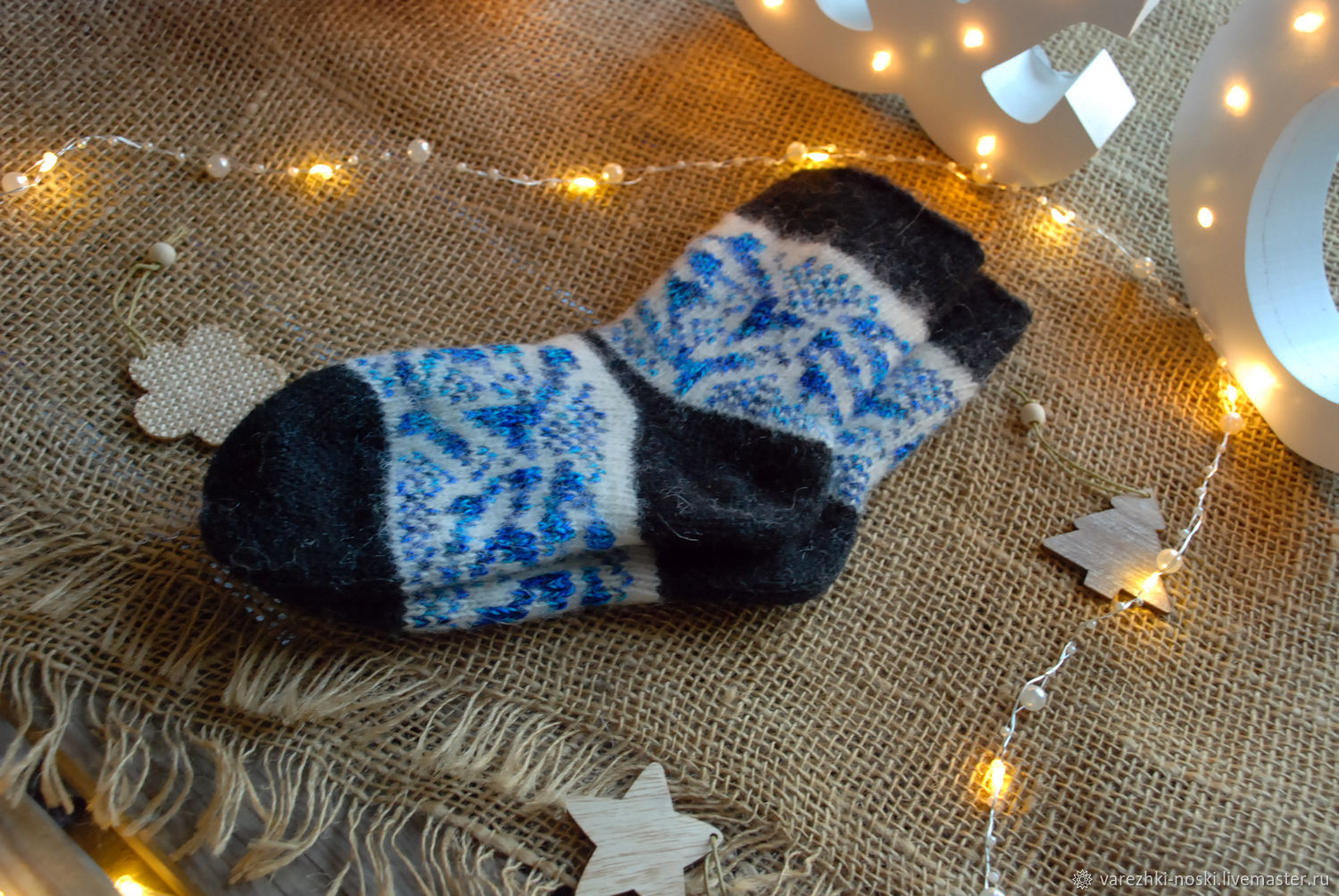 Socks baby wool with ornaments, Socks, Moscow,  Фото №1