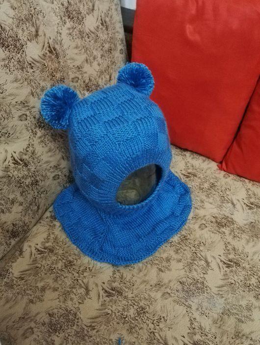Одежда для мальчиков, ручной работы. Ярмарка Мастеров - ручная работа. Купить Шапочка-шлем. Handmade. Шапка, шлем, девочка