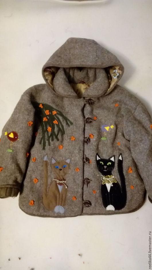 """Верхняя одежда ручной работы. Ярмарка Мастеров - ручная работа. Купить Комплект  зимний из куртки и юбки """" Кото- феи"""". Handmade."""
