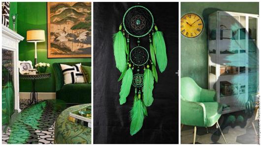 Ловцы снов ручной работы. Ярмарка Мастеров - ручная работа. Купить Dreamcatcher New green Dream сatcher gift idea green dreamcatchers boh. Handmade.