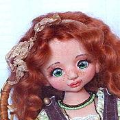 Куклы и игрушки ручной работы. Ярмарка Мастеров - ручная работа София, ягодка моя. Текстильная кукла.. Handmade.