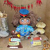 Куклы и игрушки ручной работы. Ярмарка Мастеров - ручная работа Домовята на удачу разных профессий. Handmade.