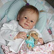 Куклы и игрушки handmade. Livemaster - original item Reborn doll, Greta. Handmade.