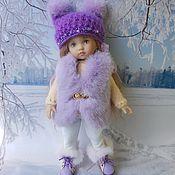 Одежда для кукол ручной работы. Ярмарка Мастеров - ручная работа Зимний комплект для куклы .. Handmade.