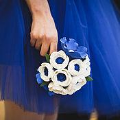 Свадебный салон ручной работы. Ярмарка Мастеров - ручная работа Синева. Handmade.