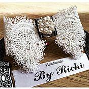 Аксессуары handmade. Livemaster - original item Bow tie for beautiful girls. Handmade.
