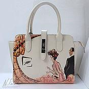 Сумки и аксессуары handmade. Livemaster - original item Painted bags.