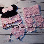 """Работы для детей, ручной работы. Ярмарка Мастеров - ручная работа Комплект для девочки""""Минни"""". Handmade."""