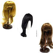 Материалы для творчества ручной работы. Ярмарка Мастеров - ручная работа волосы прямые блонд, русые, черные, каштан. Handmade.