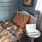 Для дома и интерьера handmade. Livemaster - original item Bed linen Last day of autumn. Handmade.