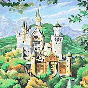 """Картины и панно ручной работы. Ярмарка Мастеров - ручная работа Картина """"Замок"""". Handmade."""