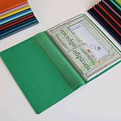 Канцелярские товары handmade. Livemaster - original item A4 document organizer green. Handmade.