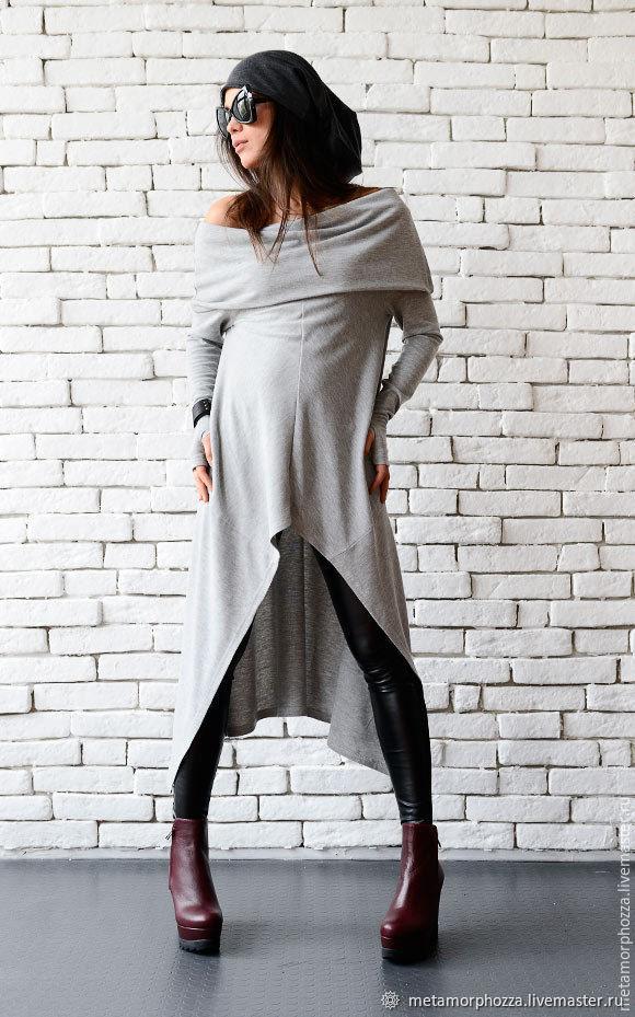Copy of Light Grey Loose Tunic, Tunics, Sofia,  Фото №1