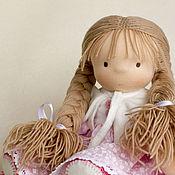Вальдорфские куклы и звери ручной работы. Ярмарка Мастеров - ручная работа Игровая кукла Машенька,  31 см. Handmade.