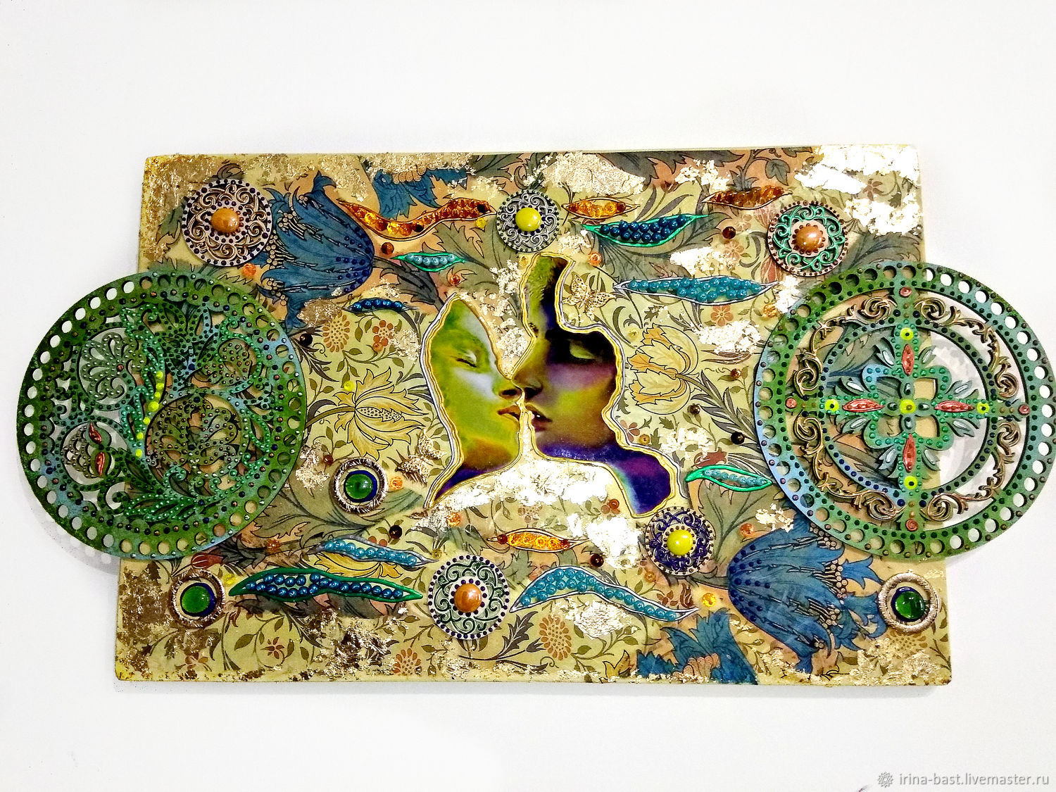 Decorative panels in the style of art Nouveau, modern Kiss, Panels, St. Petersburg,  Фото №1