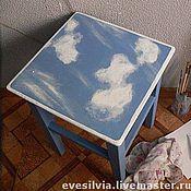Дизайн и реклама ручной работы. Ярмарка Мастеров - ручная работа небесный табурет. Handmade.