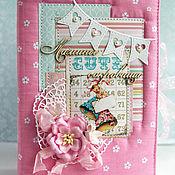 """Подарки к праздникам ручной работы. Ярмарка Мастеров - ручная работа """"Мамины сокровища"""" для девочки. Средние. Handmade."""
