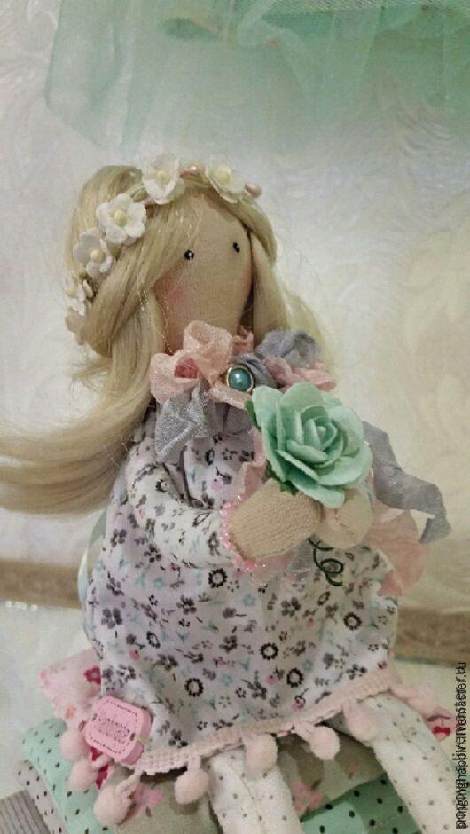 Принцесса на горошине, Куклы Тильда, Ванино,  Фото №1