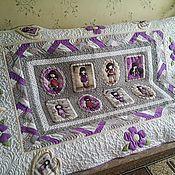 """Для дома и интерьера ручной работы. Ярмарка Мастеров - ручная работа """"Однажды в фиолетовой стране..."""". Handmade."""