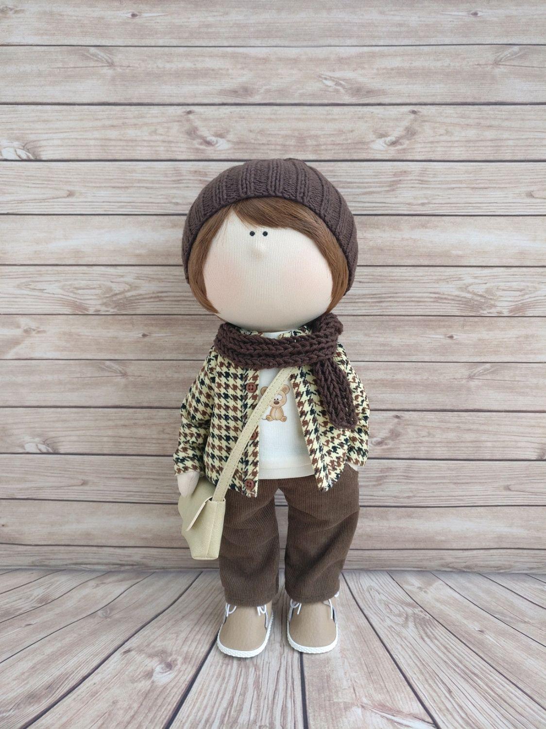 Текстильная кукла. Мальчик, Тыквоголовка, Москва,  Фото №1