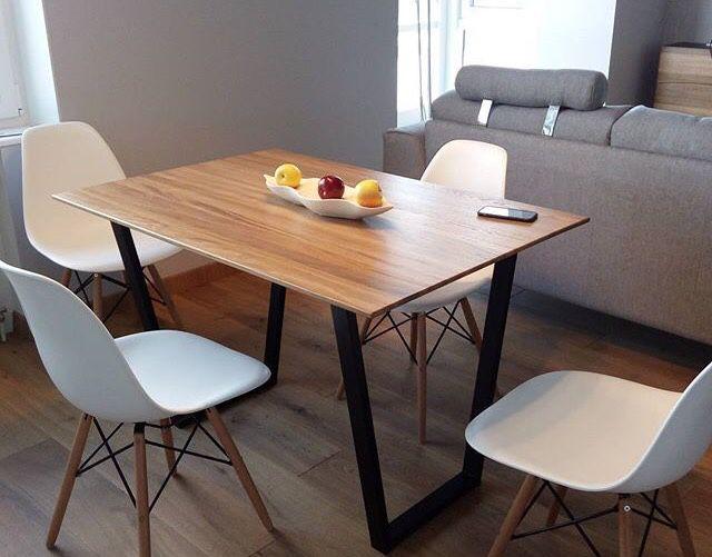 Столы и стулья для кухнинатуральное дерево