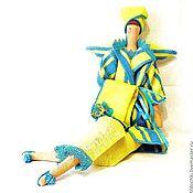 Куклы и игрушки ручной работы. Ярмарка Мастеров - ручная работа Кукла Эвелина -  фея ванной комнаты. Handmade.