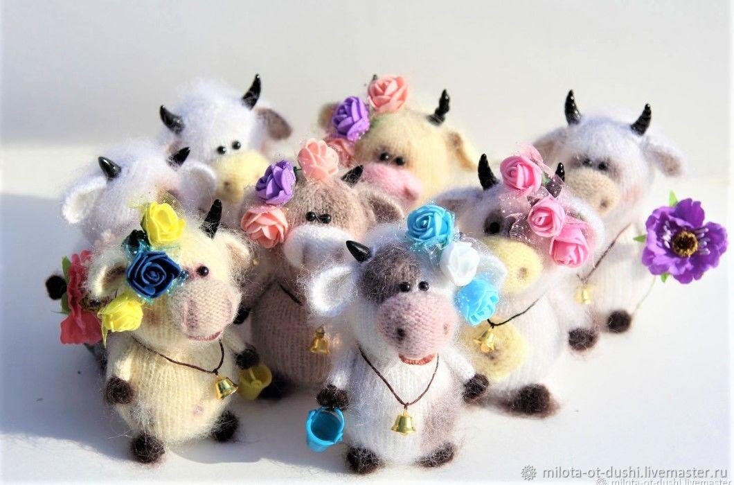 New year's toy bull, Amigurumi dolls and toys, Zhukovsky,  Фото №1