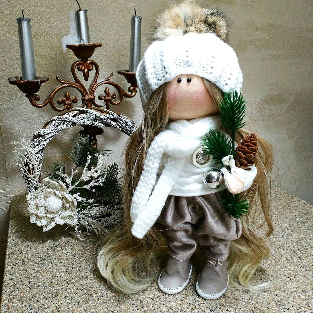 Интерьерная кукла ручной работы, Тыквоголовка, Нижний Новгород,  Фото №1
