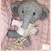 Куклы и игрушки ручной работы. Ярмарка Мастеров - ручная работа СЛО Няшка Elephangel  Baby. Handmade.