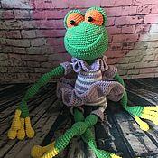 Куклы и игрушки handmade. Livemaster - original item The Frog Lady. Handmade.