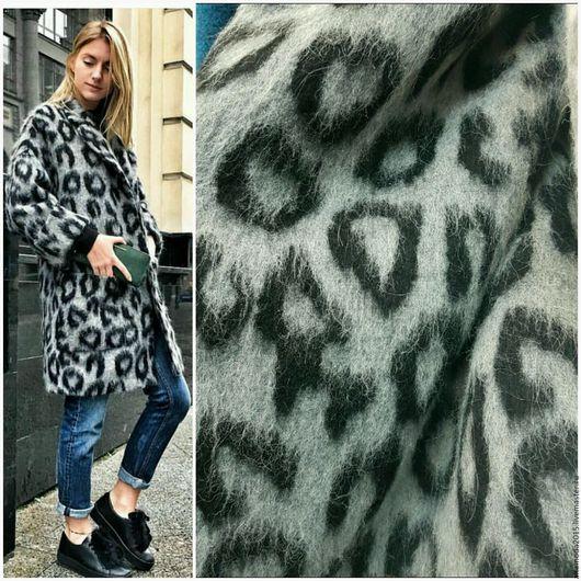 Шитье ручной работы. Ярмарка Мастеров - ручная работа. Купить 20% скидка Ворсовая пальтовка леопард 4 цвета ткань Италия. Handmade.
