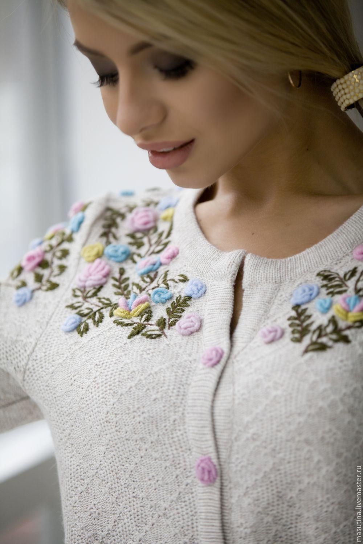 Рококо вышивка на платьях