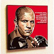 Сувениры и подарки handmade. Livemaster - original item Picture poster Fedor Emelyanenko Pop Art. Handmade.