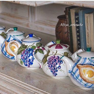 Посуда ручной работы. Ярмарка Мастеров - ручная работа Пиросмани. Handmade.